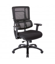 Office Star Pro X996 Mesh-Back High-Back Fabric Managers Chair (Shown in Black)