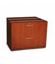 "Mayline Aberdeen ACLF36 36"" W 2-Drawer Credenza Lateral File (Shown in Cherry)"