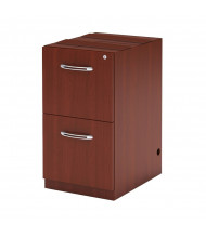 Mayline Aberdeen AFF20 2-Drawer File/File Credenza Pedestal Cabinet (Shown in Cherry)