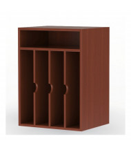 Mayline Aberdeen AVPM Vertical Paper Organizer (Shown in Cherry)