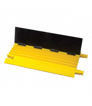"Checkers 5-Channel 1.25"" Bumble Bee Cable Protector (Shown with Dog Bone Connectors in Black/Yellow)"