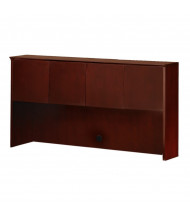 "Mayline Corsica CHW72 72"" W Hutch with Wood Doors (Shown in Sierra Cherry)"