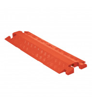 Checkers 1-Channel Linebacker Cable Protector (Shown in Orange, Closed Top Model)