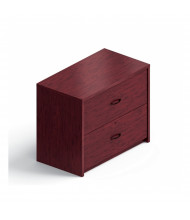 "Global Genoa G2036LF 36"" W 2-Drawer Lateral File (Shown in Mahogany)"