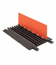 Checkers 5-Channel Guard Dog Cable Protector (Standard Ramp Shown in Orange / Black)