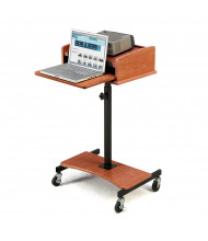 Oklahoma Sound Laptop Speaker Stand (Shown in Cherry)