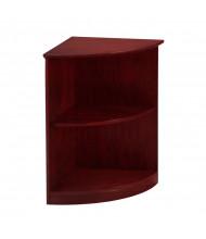 Mayline Medina MVBQ2 2-Shelf Bookcase (Mahogany)