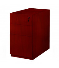 "Mayline Luminary PBBF22 2-Drawer File/File Pedestal Box for 30"" Desk (Shown in Cherry)"