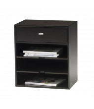 Mayline Sorrento SHH Horizontal Hutch Organizer (Shown in Espresso)