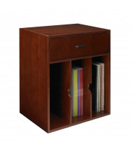 Mayline Sorrento SHV Vertical Hutch Organizer (Shown in Bourbon Cherry)
