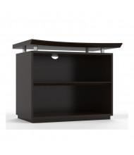 Mayline Sterling STEB2 2-Shelf Bookcase (Mocha)