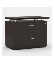 "Mayline Sterling STELF 36"" 2-Drawer Lateral File (Shown in Mocha)"