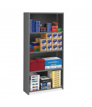 Tennsco ESPC Closed-Back Storage Shelving Unit (Shown in use)