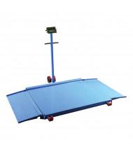 Vestil VPFS-3B 4 ft. x 3.5 ft. Mobile Platform Scale, 3000 lbs. Capacity