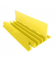"Checkers 3-Channel 2.125"" Yellow Jacket Cable Protector (Standard Ramp Model Shown in Yellow)"