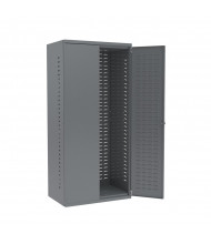 "Akro-Mils 24"" D Steel Cabinet Unit w/ Louvered Back and Doors (Shown in Grey)"