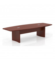 Mayline Aberdeen ACTB10 10 ft Boat-Shaped Conference Table (Shown in Cherry)