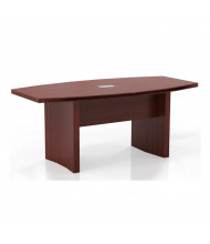 Mayline Aberdeen ACTB6 6 ft Boat-Shaped Conference Table (Shown in Cherry)