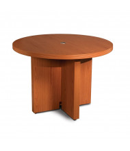 "Mayline Aberdeen ACTR42 42"" Round Conference Table (cherry)"
