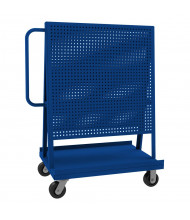 Durham Steel 1200 lb Double Sided Pegboard A-Frame Truck (Shown in Blue)