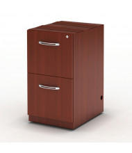 Mayline Aberdeen AFF26 2-Drawer File/File Desk Pedestal Cabinet (Shown in Cherry)