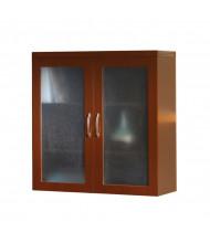 "Mayline Aberdeen AGDC 36"" W Glass Display Cabinet (Shown in Cherry)"