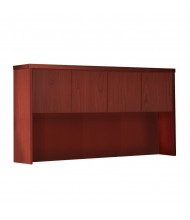 """Mayline Aberdeen AHW60 60"""" W Hutch with Wood Doors (Shown in Cherry)"""