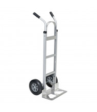 Vestil ALUM-H-HR Deluxe Dual Handle Aluminum Hand Truck, Hard Rubber Wheels