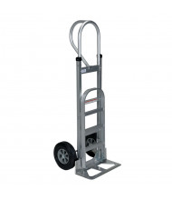 Vestil ALUM-P-HR Deluxe P-Handle Aluminum Hand Truck, Hard Rubber Wheels