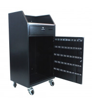 Amplivox Portable Steel Valet Podiums