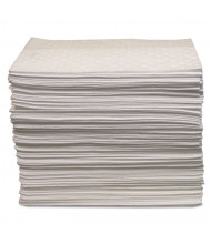 "Anchor Brand 20.5 Gal. Oil Only Sorbent Pad, 15"" W x 17"" L, 100/Pack"