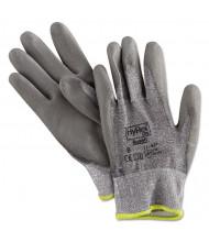 AnsellPro HyFlex 627 Light-Duty Gloves, Size 8, Dyneema/Lycra/Polyurethane, GY, 12/Pair