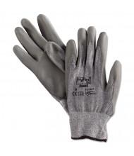 AnsellPro HyFlex 627 Light-Duty Gloves, Size 9, Dyneema/Lycra/Polyurethane, GY, 12/Pair