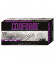 AnsellPro Conform Natural Rubber Latex Gloves, 5 mil, X-Large, 100/Pack