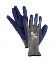 AnsellPro PowerFlex Gloves, Blue/Gray, Size 10