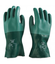 AnsellPro Scorpio Neoprene Gloves, Green, Size 10, 12/Pair