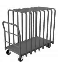 Durham Steel 1800 lb Load Adjustable Panel Trucks (8 Dividers)