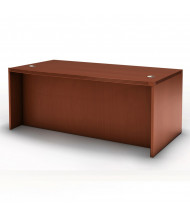 "Mayline Aberdeen 72"" W Straight Front Office Desk (Shown in Cherry)"