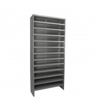 "Akro-Mils 13-Shelf 12"" D Closed-Back Storage Shelving Unit"