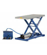 "Vestil AT-10 200 lb Load 19.5"" x 39.5"" Pneumatic Scissor Lift Table"
