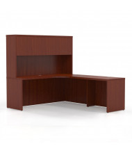 Mayline Aberdeen AT30 L-Shaped Executive Office Desk Set (Shown in Cherry)