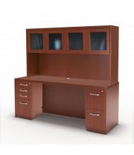 Mayline Aberdeen AT34 Office Desk Set (Shown in Cherry)