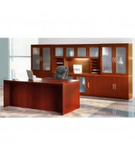 Mayline Aberdeen AT35 Office Desk Set (Shown in Cherry)