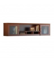 "Mayline Aberdeen AWG72 72"" W Wall Mount Hutch (Shown in Cherry)"