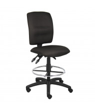 Boss B1645 Multifunction LeatherPlus Drafting Stool