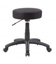 Boss B210 Dot Adjustable Height Mesh Task Stool (Shown in Black)