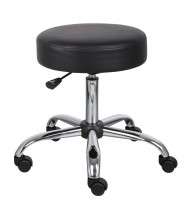 Boss B240 Backless Caressoft Medical Doctor's Stool (Shown in Black)