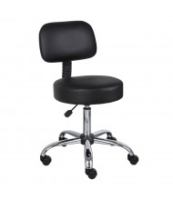Boss B245 Caressoft Medical Doctor's Stool (Shown in Black)