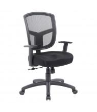 Boss B6022 Synchro-Tilt Mesh Mid-Back Task Chair
