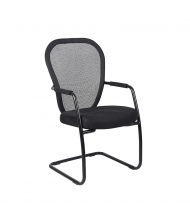 Boss B6609-BK Mesh Guest Chair